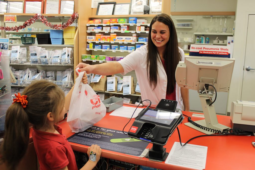 Shopping a CVS with New Digital Receipts