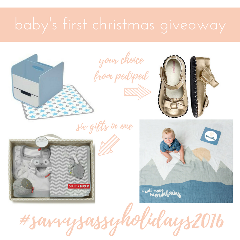Baby's First Christmas Giveaway (Over $1000 value)