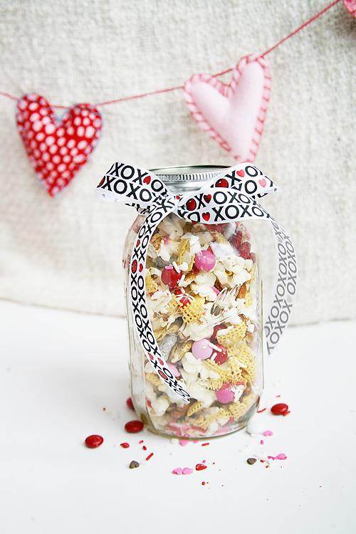 Cupid Crunch Snack Mix Recipe