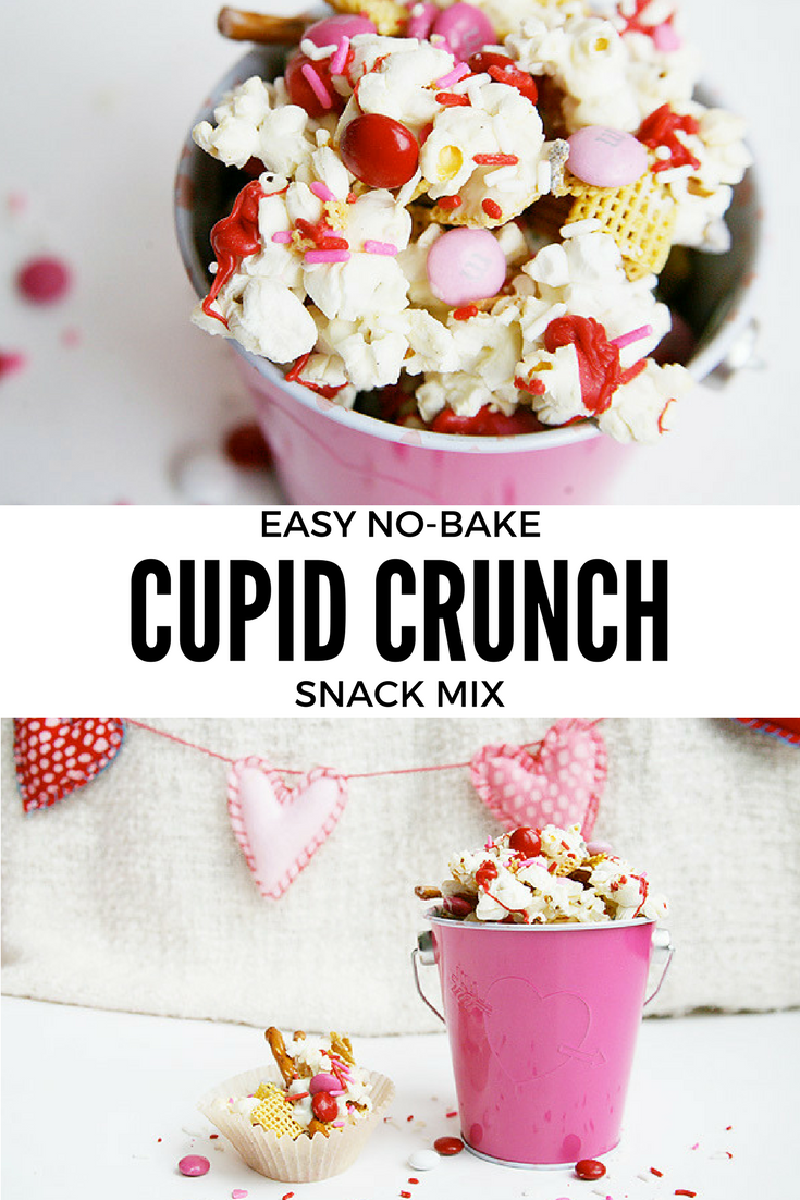 Easy No-Bake Cupid Crunch Snack Mix