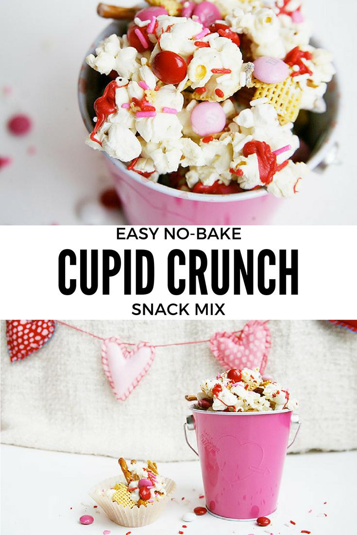 Easy No-Bake Cupid Crunch Snack Mix
