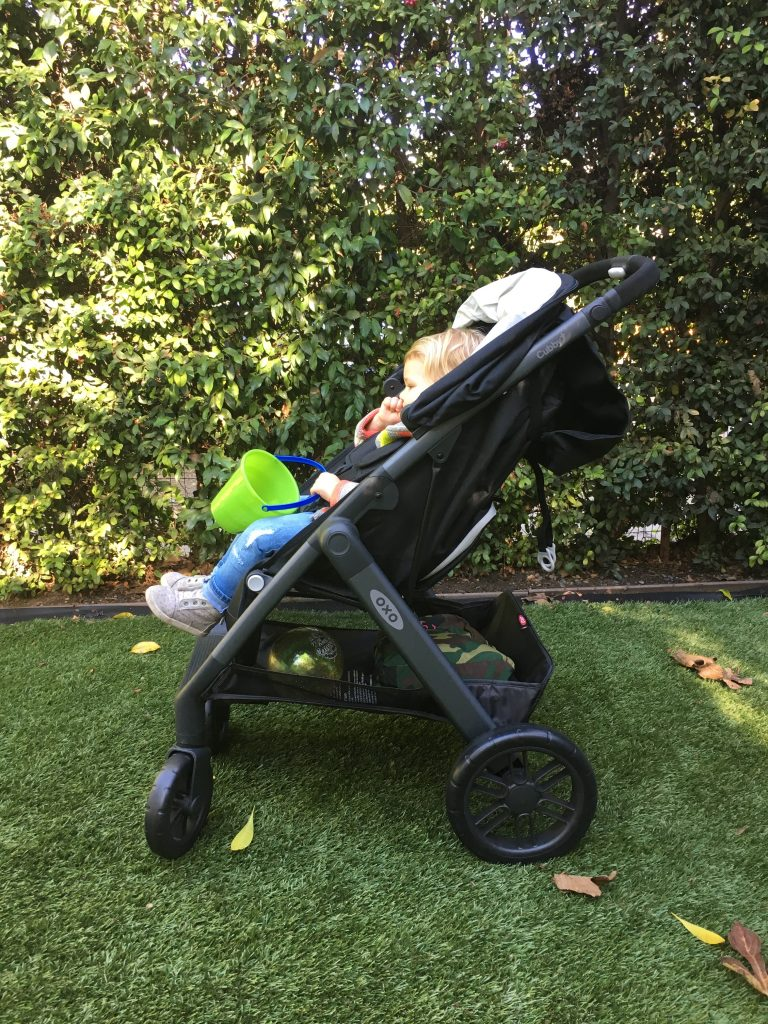 OXO Cubby+ Stroller Review (+ Giveaway!)