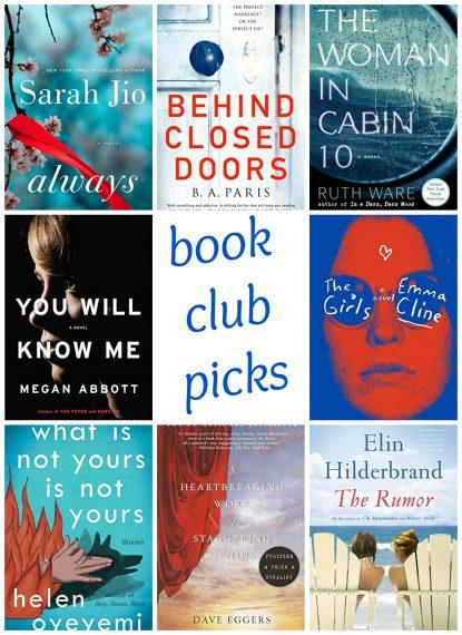 2017 Winter Book Club Picks