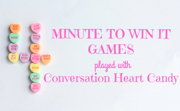 "Valentine's Day ""Minute to Win It"" Games"