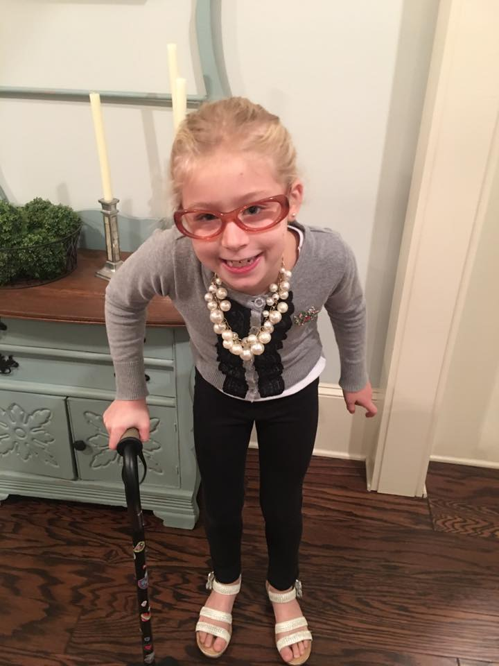 100 Years Old on the 100th Day of School