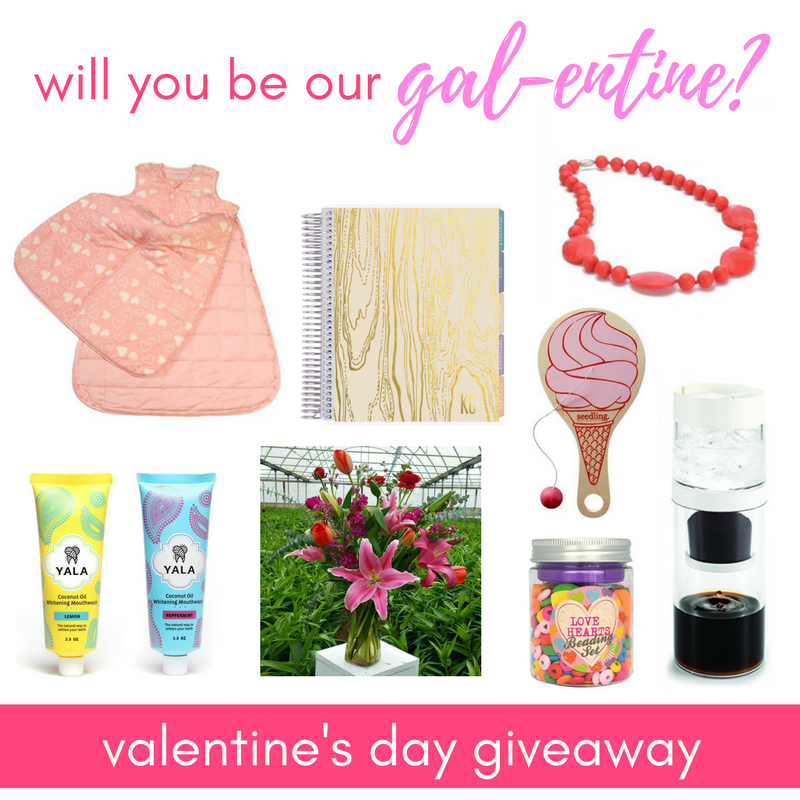 Will you be our gal-entine? (Valentine Giveaway)