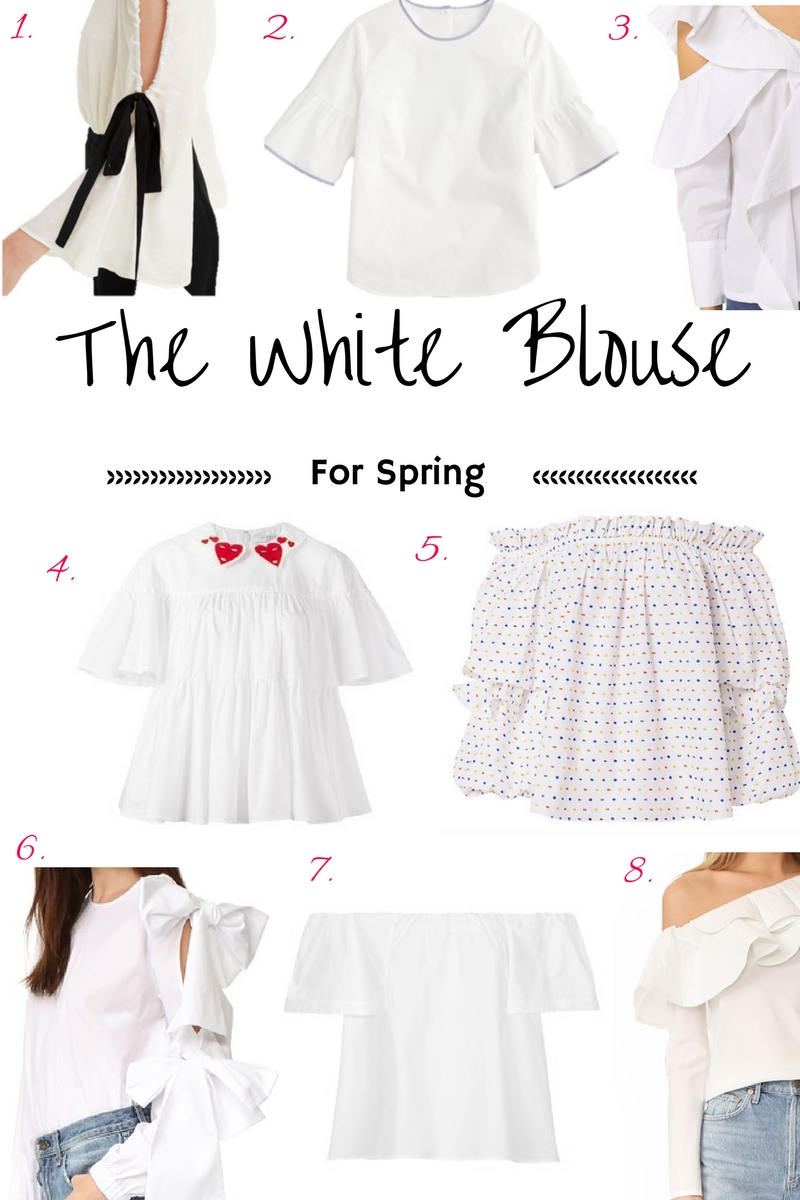 White Blouse Refresh For Spring