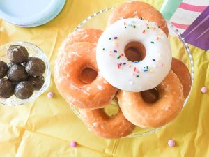 donut party food