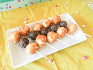 donut party kabobs