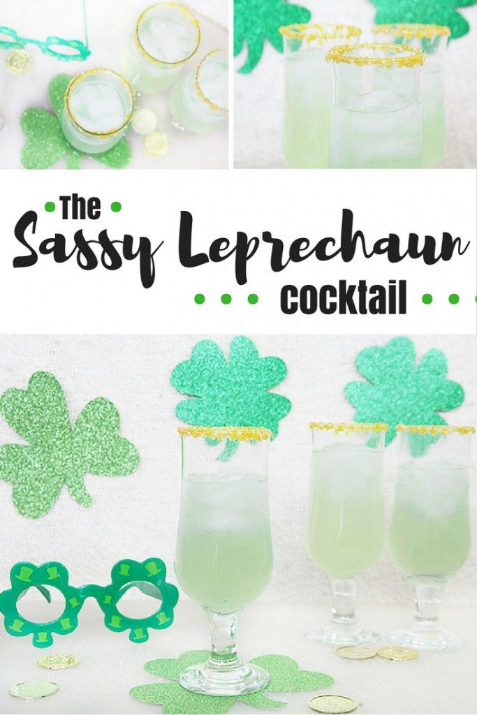 The Sassy Leprechaun cocktail