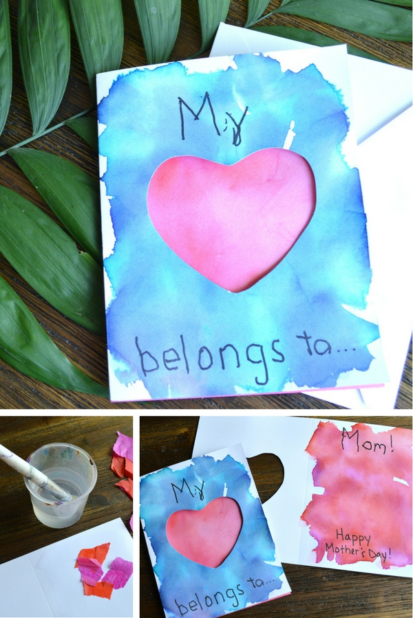 DIY Mother's Day Card - Mother's Day crafts