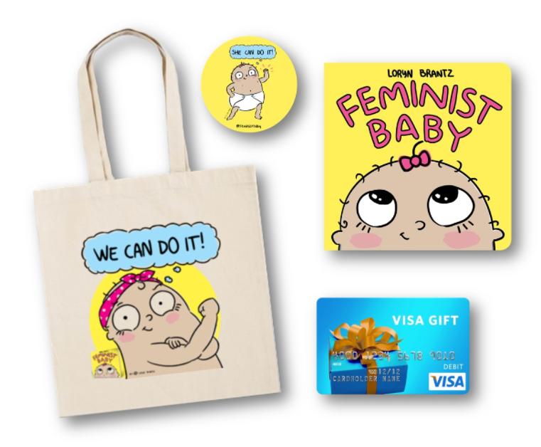 Feminist Baby Gift Pack