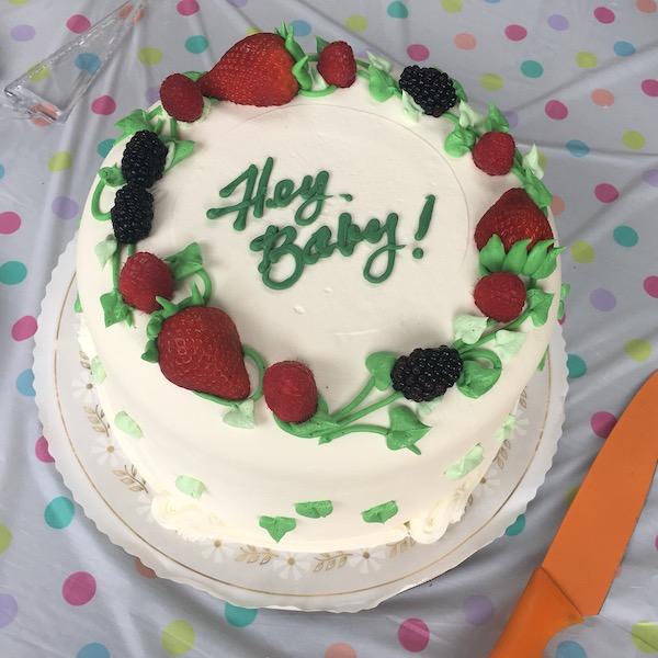 baby shower sweet lady jane triple berry cake