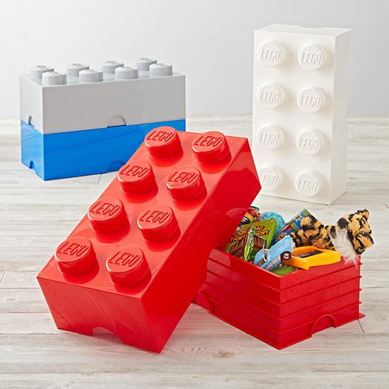 Lego stackable bins