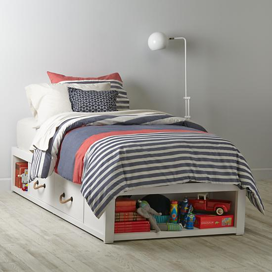 Topside Storage Kids Bed The Land of Nod
