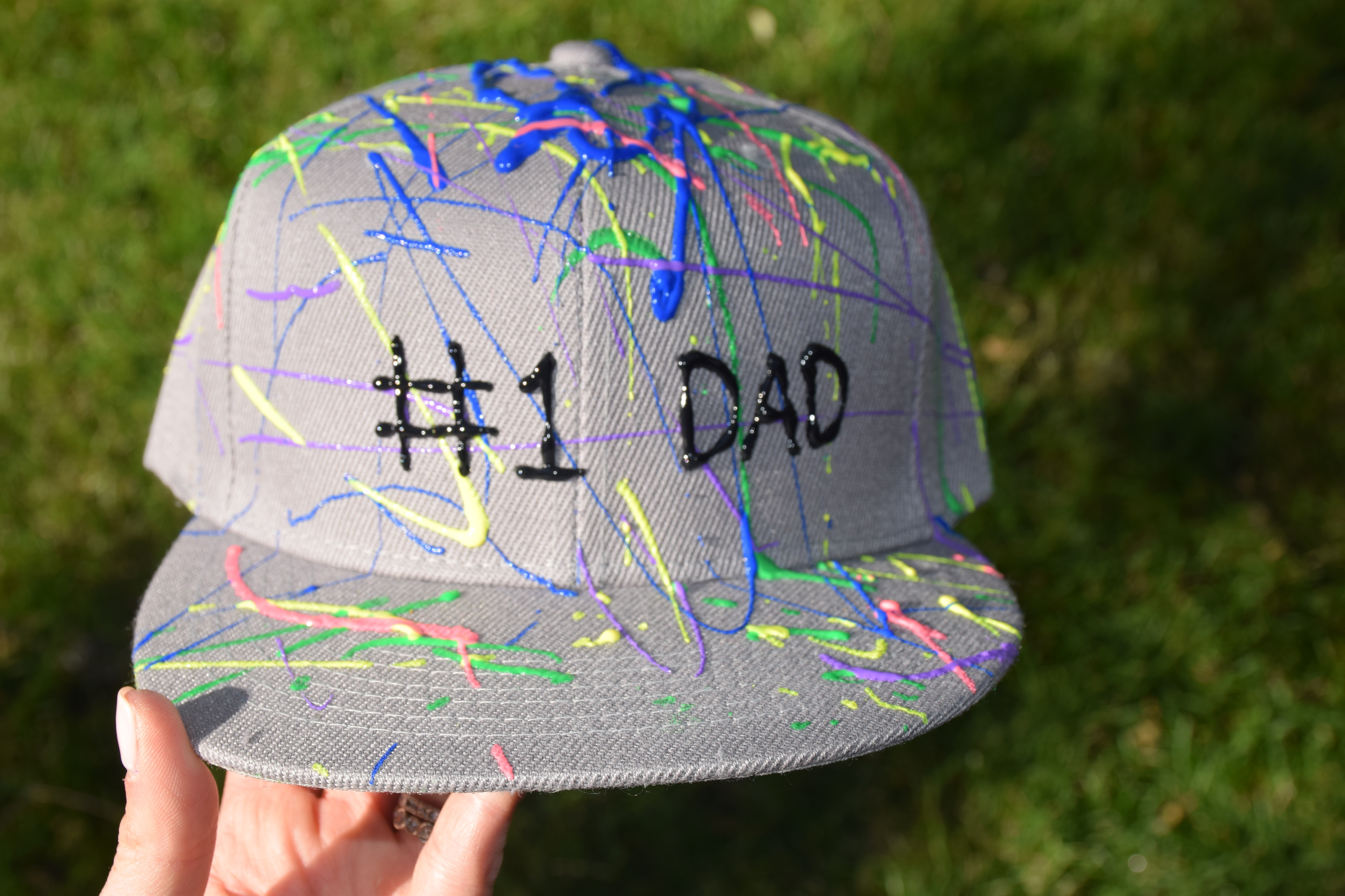DIY Father's Day hat