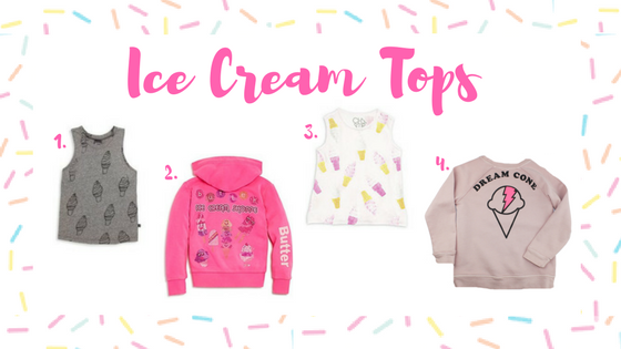 Ice Cream tops