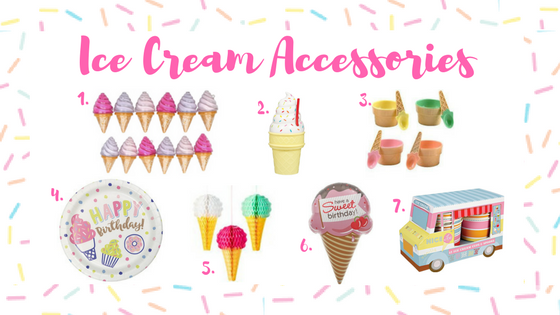 Ice cream accessories