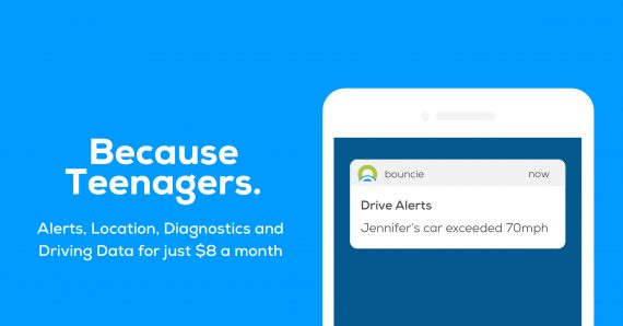 Bouncie gives parents peace of mind when teens start driving