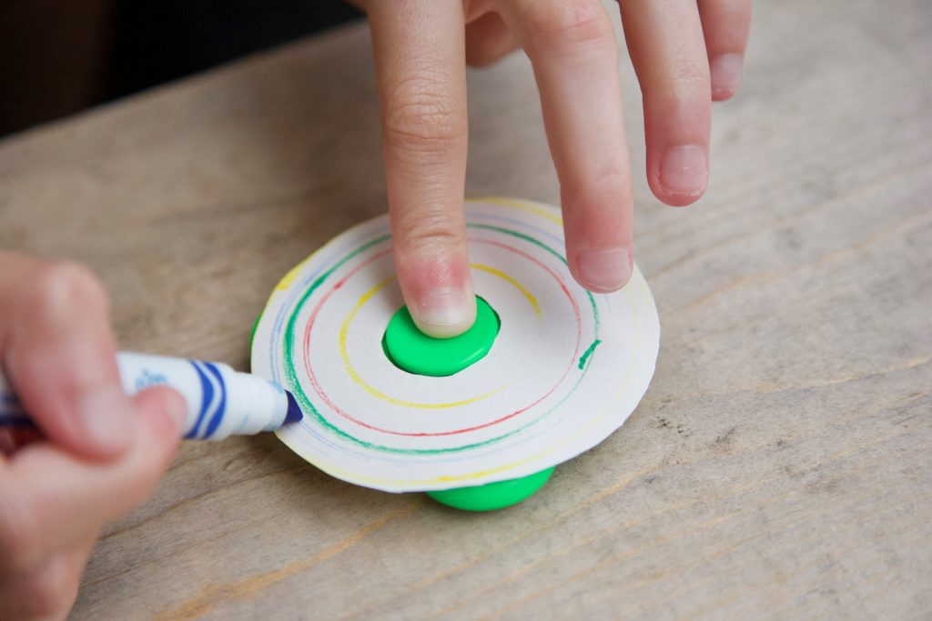 Easy DIY fidget spinner crafts