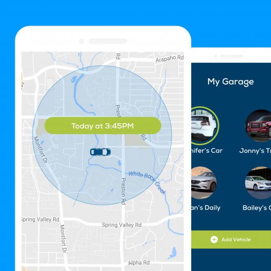 Bouncie helps parents stay aware of where their kids are driving