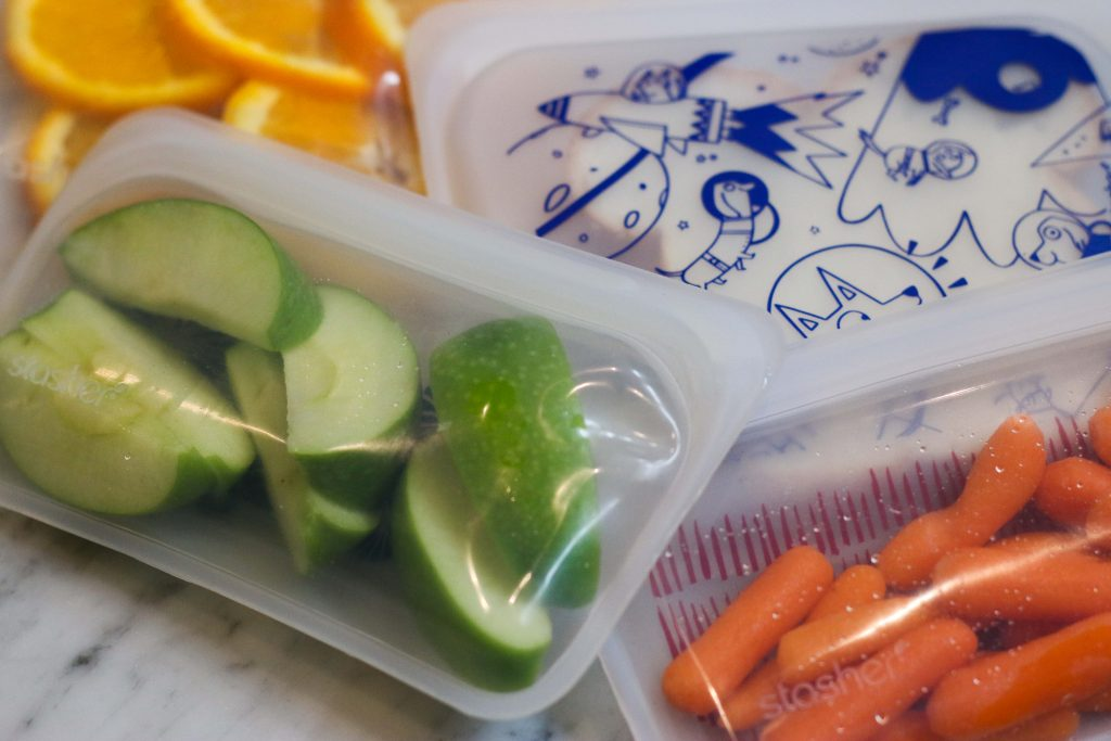 Stashers Snack Bags for eco-friendly lunchbox options