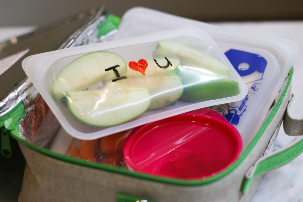 Personalize your stashed bags for fun lunchbox notes