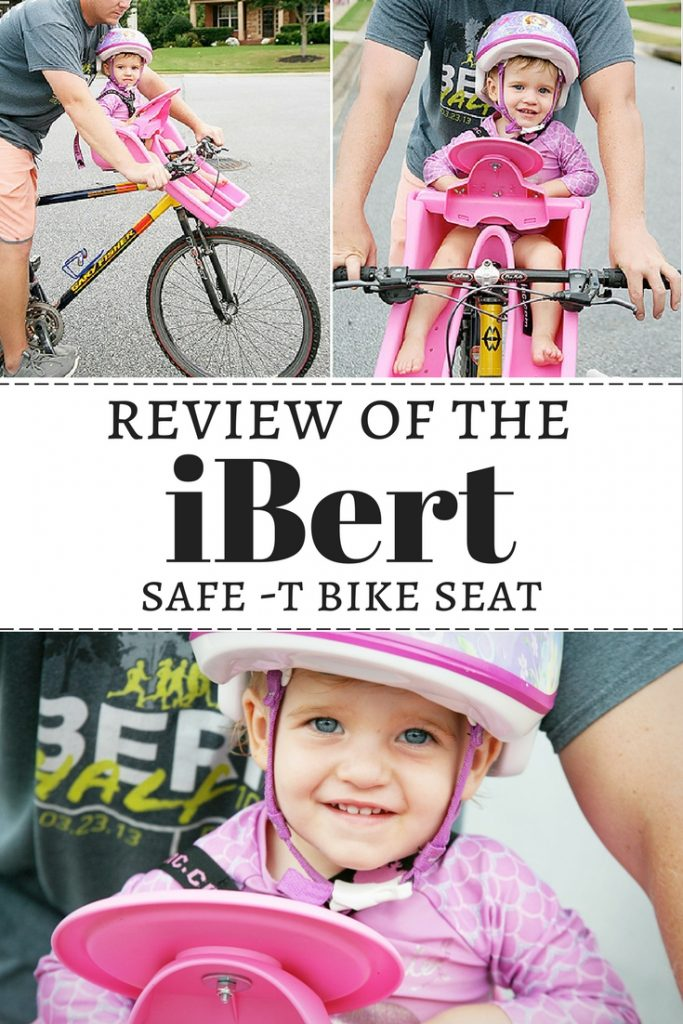 A review of the iBert Safe-T Bike Seat.