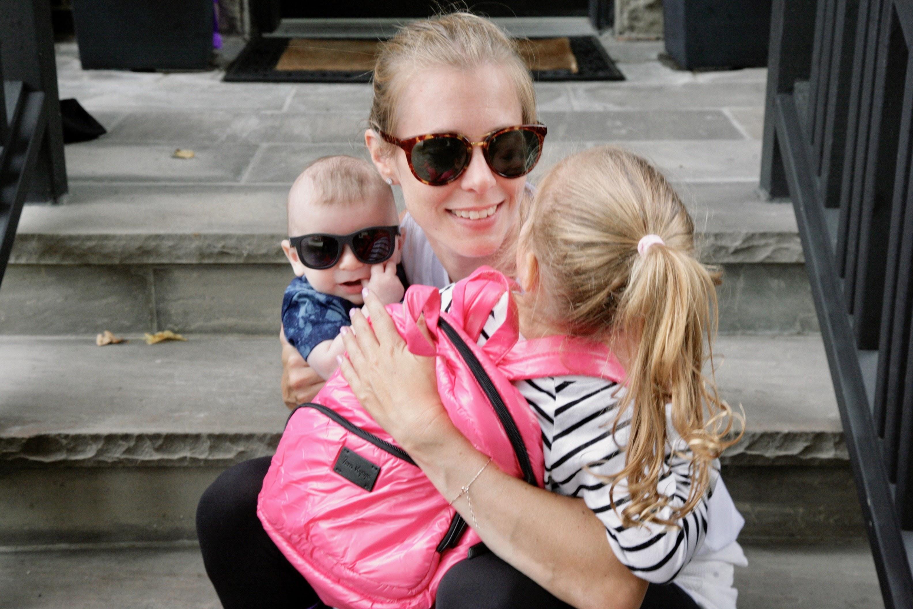 Tara and her kids