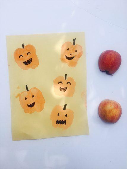 Pumpkin playdate Halloween crafts