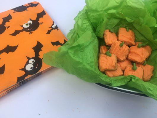 Pumpkin playdate sweet treats