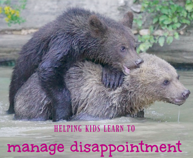 how to manage disappointment