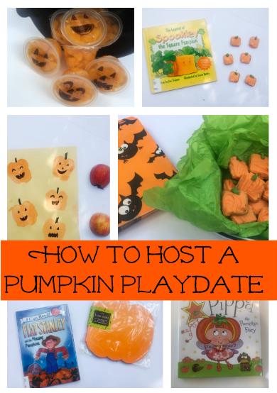Host a pumpkin playdate