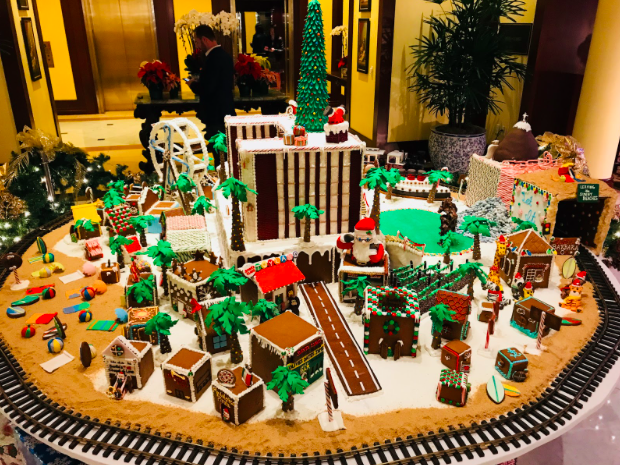 Gingerbread House Four Seasons
